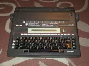 Brother Ax 26 Word Processing Electronic Typewriter works Great