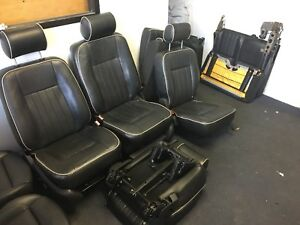 03 06 Lincoln Navigator Seats Set complete Limo With Piping