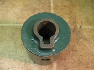 International Harvester 956t Hit Miss Gas Engine Flat Belt Pulley Ihc Mogul