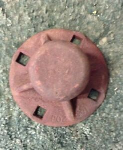 Po2391 A New Outer Wheel Hub For A Mccormick A 151 Disk Plow A 12 d Harrow