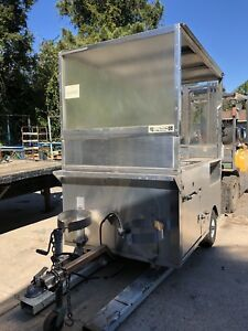 Food Trailer cart mobil Kitchen truck