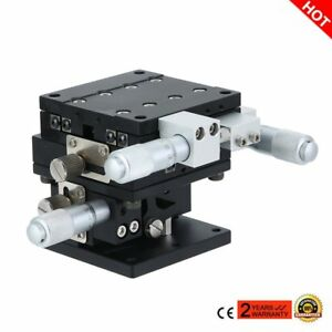 Xyz 3 Axis Linear Stage Trimming Platform Bearing Tuning Sliding Table 60x60mm