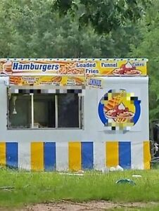 8 X 16 Food Concession Trailer For Sale In Louisiana