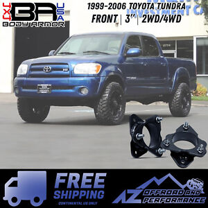 Body Armor 4x4 1999 2006 Toyota Tundra 3 Front Lift Kit free Shipping