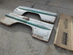 1958 1959 Chevrolet Truck Short Fleetside Bed Sides Front Panel Chevy