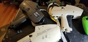 Lot Of 2 Monarch Marking Model 1175 Label Pricing Guns Plus 1 Model 1115 As Is
