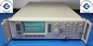 Anritsu 68047c Synthesized Cw Generator 10 Mhz T0 20 Ghz used