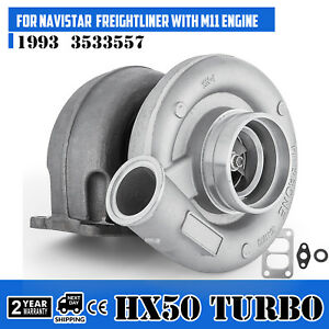 Le Hx50 Turbo Charger For M11 Cumnins Diesel Engine 3533557 3533558 3803710 Od