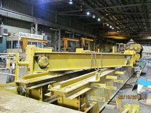 50 Ton Capacity Whiting Overhead Bridge Crane For Sale