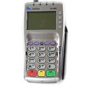 Verifone Vx805 Pin Pad Emv Ctls Chip Reader Nfc Contactless Credit Card Usb Ac