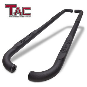 For 15 20 Ford F150 Supercrew Cab 3 Texture Side Steps Nerf Bars Running Boards