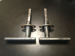 Vintage Antique Dodge Brothers Ford Pontiac Olds Chrysler Door Handle Set Buick
