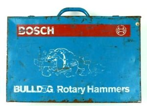 Bulldog Rotary Hammer Drill 11210vsr Electric W Carrying Case Plug In
