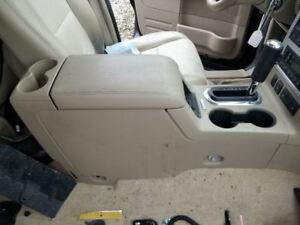 08 10 Ford Explorer Mountaineer Center Floor Console Voice Recognition Shifter