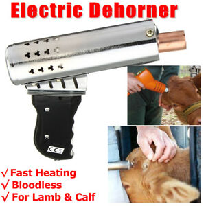 220v Calf Chamfer Electric Iron Bloodless Lamb Fast Heating Cattle Head Dehorner