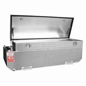 Aluminum Tank Aux65cbr 65 Gallon Auxiliary Fuel Transfer Tank Toolbox Combo