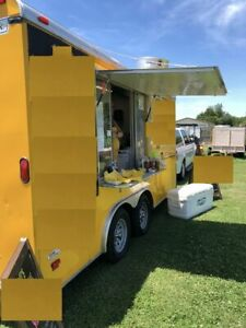 2013 8 5 X 16 Haulmark Food Concession Kitchen Trailer For Sale In Oklahoma