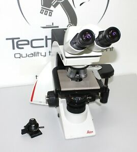 Microscope Leica Dm2000 With 3 Objectives