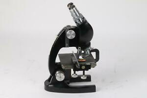 Bausch amp Lomb Microscope With Accessories