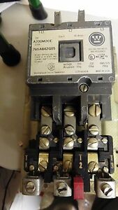 Perfect Condition Perfect Working Westinghouse A200m2ce Size 2 Motor Starter