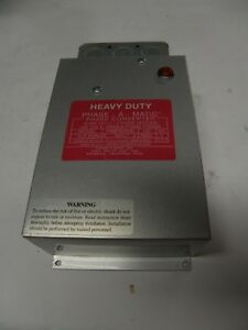 Pam 600hd Phase a matic Phase Converter Free Shipping