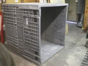 Heavy Duty Buckhorn Plastic Shipping Container