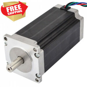 Low Current Nema 23 Cnc Stepper Motor 1 8a 340oz in 2 4nm Mill Lathe Router