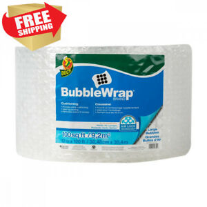 Duck Brand Large Bubble Wrap Roll 5 16 Cushioning 12 X 100 Perforated