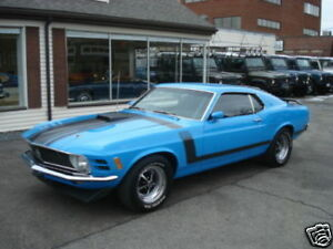 1970 Ford Mustang Boss 302 Stripe Kit Reflective