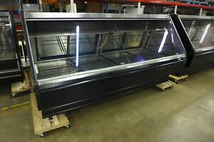 Tyler Tlm8 Service Lift Glass Gravity Coil Meat Deli Grocery Cooler Display Case