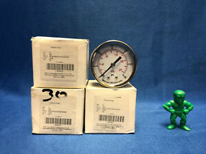 Pressure Gauge 4fmu7 2 0 30 Psi 1 4 Npt lot Of 4
