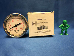 Pressure Gauge 4cfr4 2 5 0 30 Psi lot Of 2