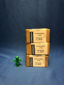 Wilkerson Frp 96 653 Filter Element lot Of 3