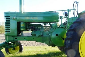 1950 John Deere G Antique Farm Tractor