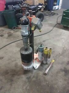 Black And Decker Model 748 Two Speed Core Drill With 5 Bits 2 2 5 4 5 And 9