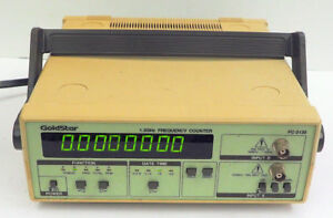 Goldstar Fc 2130 Universal Bench Digital Frequency Counter 50 Mhz To 1 3 Ghz