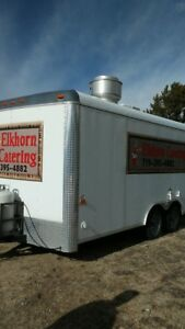 2008 Concession Trailer Vending Catering 8 X 16 Fully Equipped Lots Of Extras