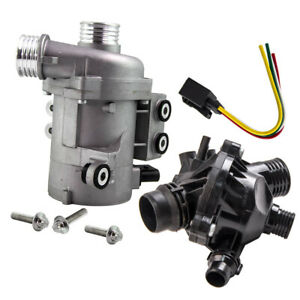 Fit Bmw E90 E60 E70 X3 X5 325xi Z4 525i Water Pump And Thermostat Kit