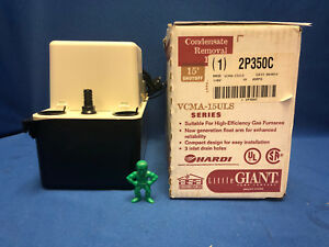 Little Giant Vcma15uls 554914 2p350c Condensate Removal Pump