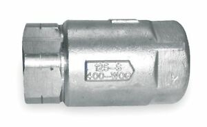 Apollo 1 Ball Cone Spring Check Valve Stainless Steel Fnpt Connection Type