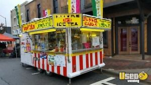 8 X 16 Food Concession Trailer For Sale In Virginia