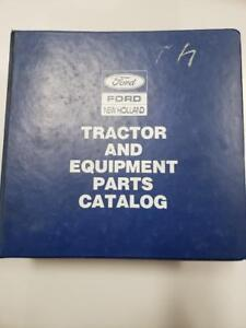 Ford New Holland 3230 4630 3 cylinder Tractors Equipment And Parts Catalog
