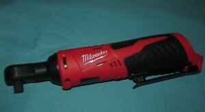 New No Box Milwaukee Model 2457 20 3 8 M12 12 Volt Cordless Ratchet Tool Only
