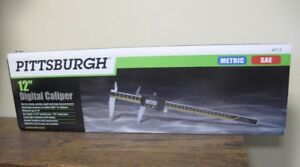 New Pittsburgh 12 Inch Digital Caliper 63713