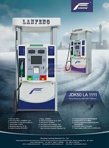 Gasoline Petrol Diesel Lanfeng Fuel Dispenser Pump For Filling