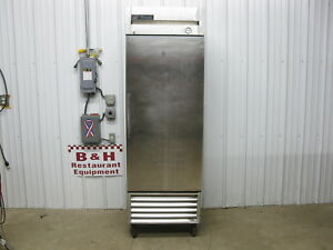 True T 23f Stainless Steel Single 1 One Door Reach In Commercial Kitchen Freezer