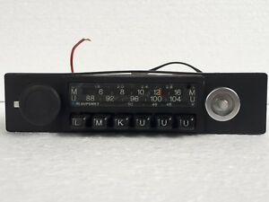 Vintage Blaupunkt Frankfurt Classic Car Radio Oldtimer Made In Germany