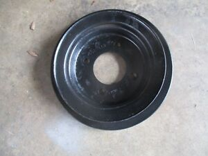 1970 Ford 302 351 Crank Pulley D0ae 6312 A