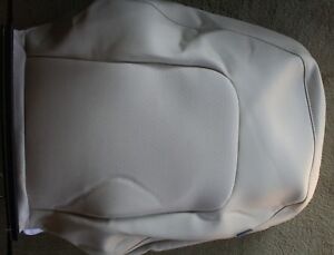 Vw Beetle Leather Front Seat Back Rest Cream Beige Tan