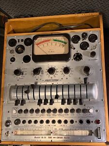 Precision 10 54 Tube Tester working